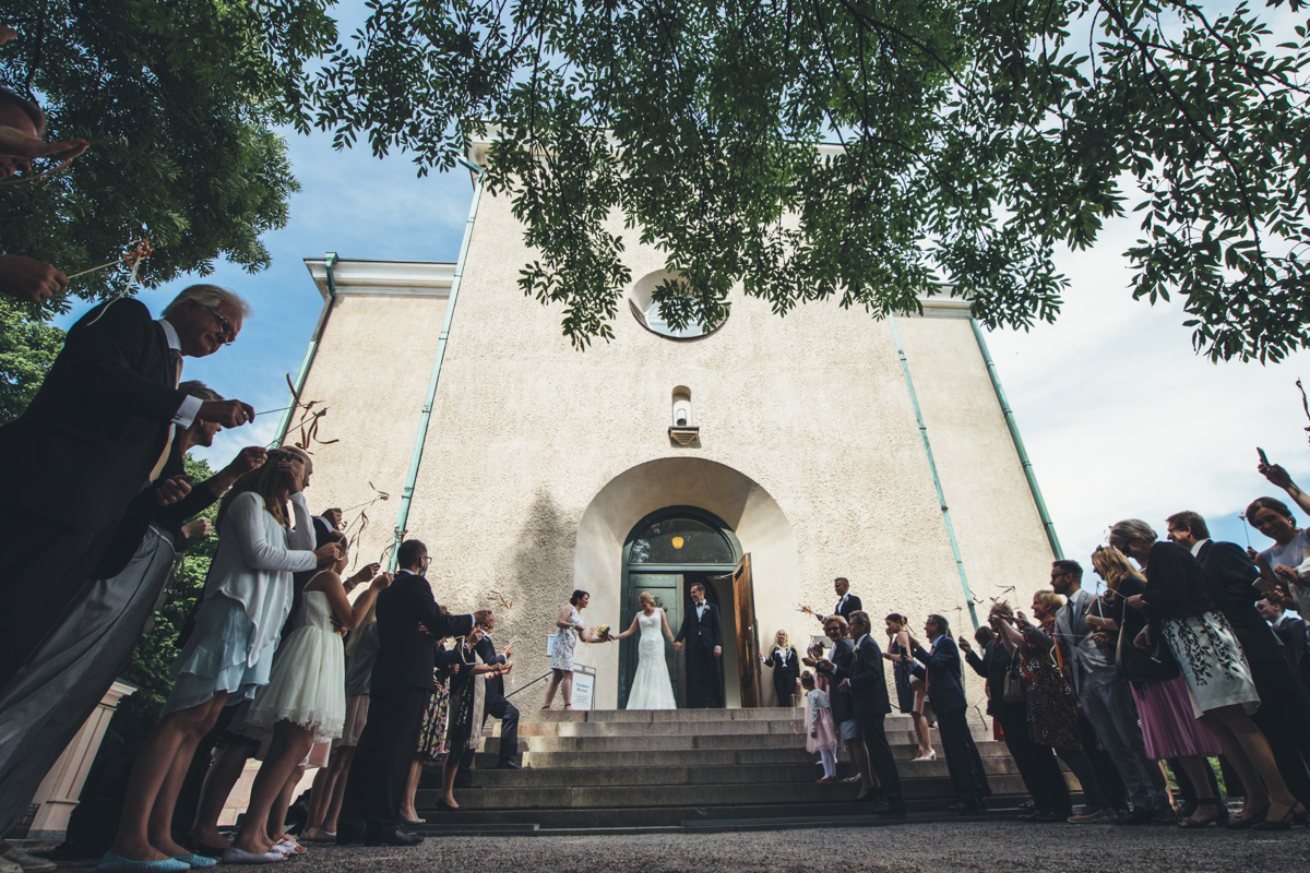 suomenlinna church wedding ceremony