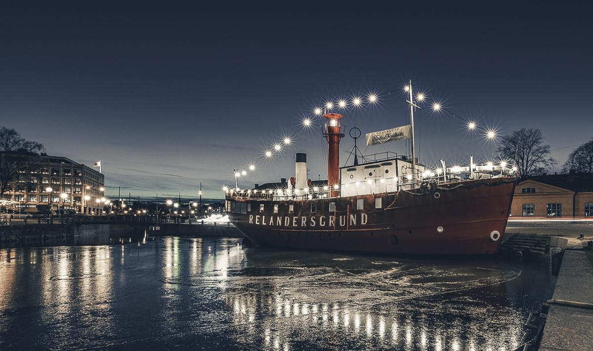 häät laivalla Relandersgrund