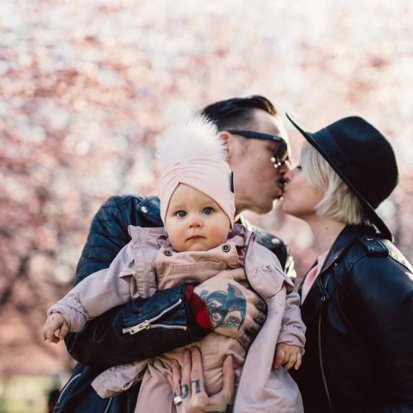 perhekuvaus helsinki kirsikkapuisto