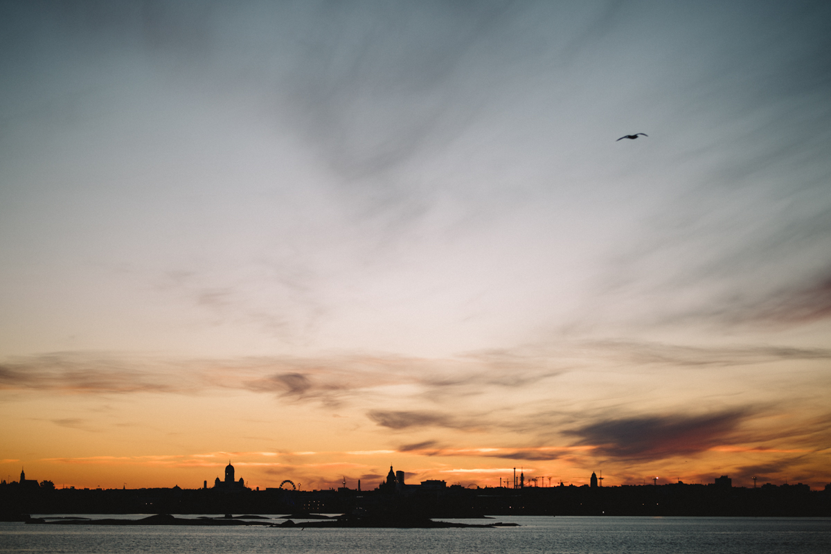 helsinki sunset photography