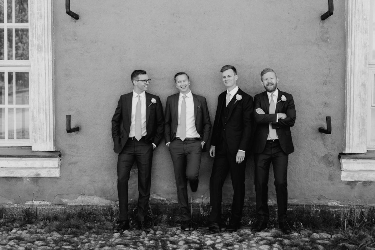 bestman wedding crew groomsmen